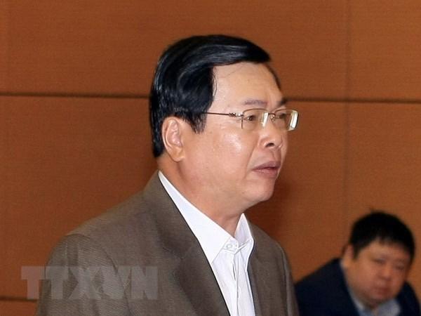 Proponen procesar al exministro de Industria y Comercio de Vietnam hinh anh 1