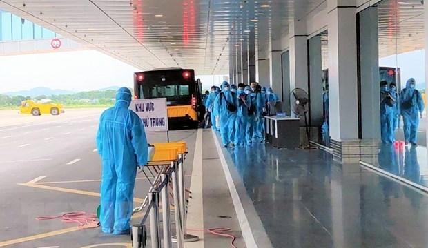 Confirma Vietnam ocho nuevos casos importados de coronavirus hinh anh 1