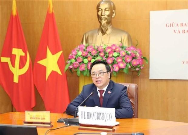 Partidos Comunistas de Vietnam y Cuba fortalecen relaciones hinh anh 1