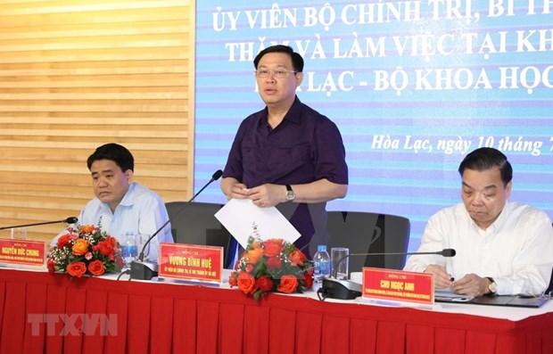Hanoi por convertirse en un centro de ciencia y tecnologia del Sudeste Asiatico hinh anh 1