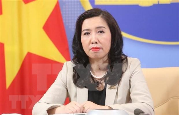 Vietnam saluda posturas acordes a las leyes internacionales sobre el Mar del Este hinh anh 1