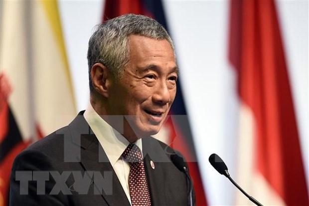 Vietnam felicita a Lee Hsien Loong por victoria electoral en Singapur hinh anh 1