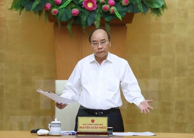 Premier de Vietnam exige acelerar desembolso de capital publico hinh anh 1