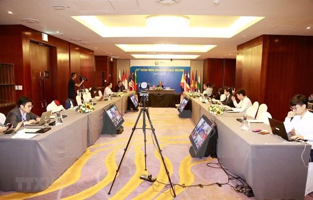 Efectuan Reunion de altos funcionarios ASEAN-India hinh anh 1