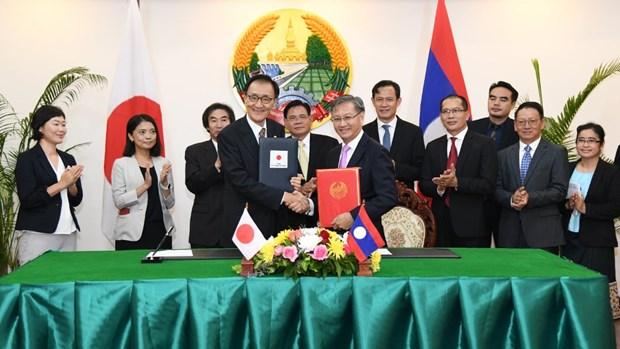 Japon ayuda a Laos en el desarrollo de recursos humanos hinh anh 1