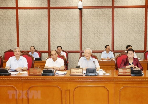 Maximo dirigente de Vietnam exige garantizar progreso integral de ciudad de Can Tho hinh anh 1