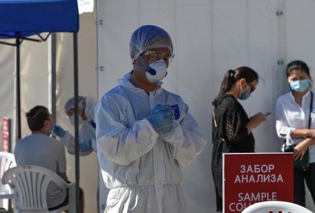 Vietnam dona materiales medicas a Kazajstan para hacer frente al COVID-19 hinh anh 1