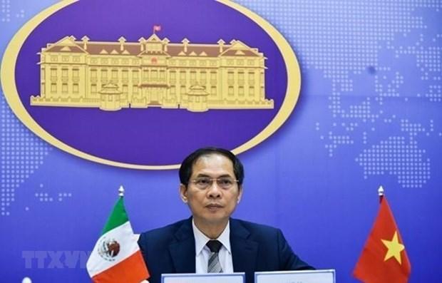 Vietnam dispuesto a cooperar con Mexico para contener COVID- 19 y reactivar economia hinh anh 1