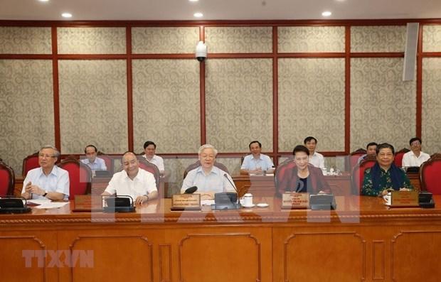 Instan a la provincia de Thanh Hoa a aprovechar sus fortalezas para promover desarrollo sostenible hinh anh 1