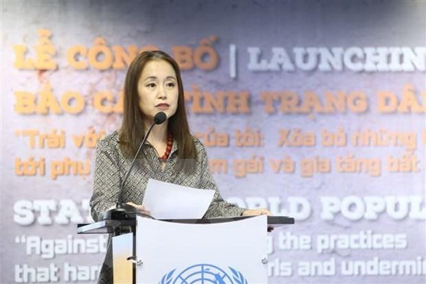 UNFPA insta a poner fin a la preferencia por los hijos varones en Vietnam hinh anh 1