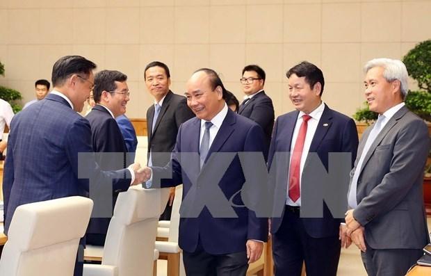Premier vietnamita destaca la importancia del sector privado hinh anh 1