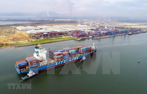 Superavit comercial de Vietnam supera los cinco mil millones de dolares hinh anh 1