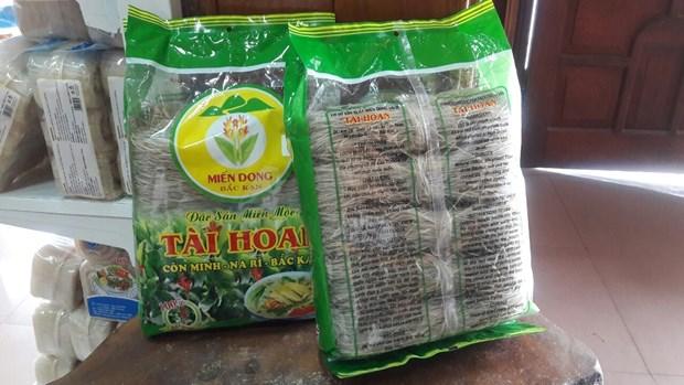 Provincia vietnamita de Bac Kan exporta fideos a Europa por primera vez hinh anh 1