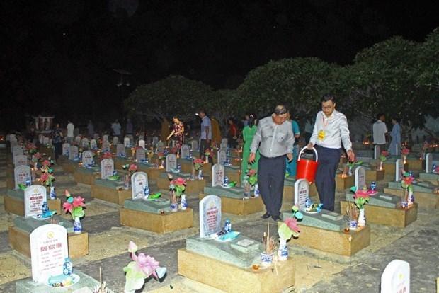 Celebran gran requiem en homenaje a martires vietnamitas caidos en Laos hinh anh 1
