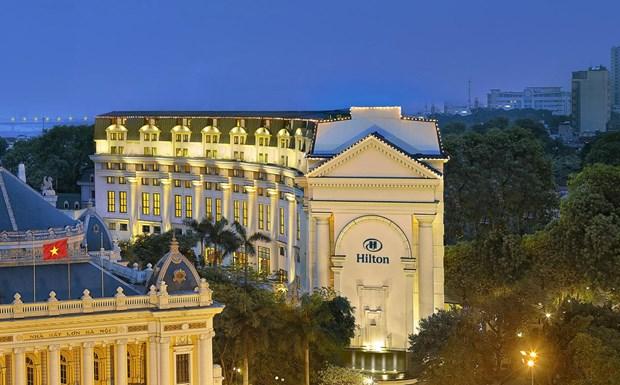 Hilton Hanoi Opera, el hotel preferido en Vietnam hinh anh 1