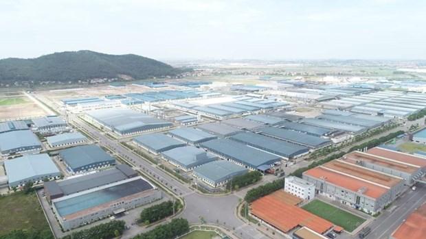 Provincia vietnamita de Bac Giang por desarrollar parques y complejos industriales hinh anh 1