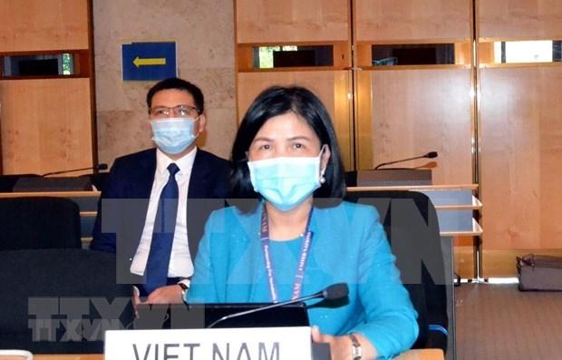 Vietnam participa activamente en 44 periodo de sesiones del Consejo de Derechos Humanos hinh anh 1