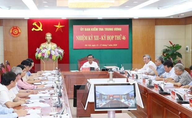 Aplican medidas disciplinarias contra militantes del Partido Comunista de Vietnam por violaciones hinh anh 1