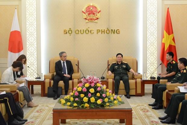 Vietnam y Japon fortalecen cooperacion en defensa hinh anh 1