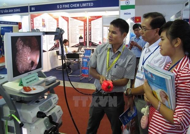 Exposicion de Salud Internacional de Vietnam organizara en linea y sin conexion hinh anh 1