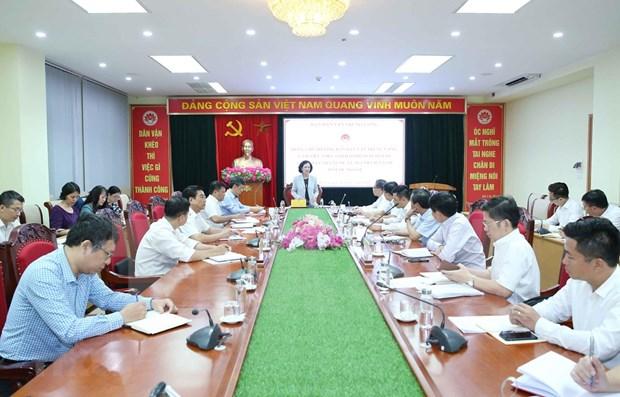Instan a agilizar movilizacion de aportes de vietnamitas en exterior al progreso nacional hinh anh 1