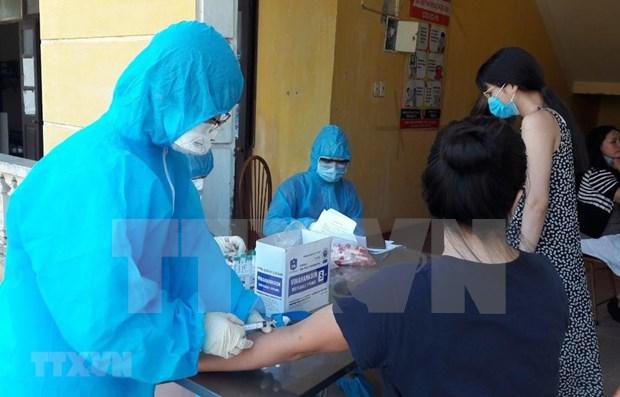 Vietnam: Otros cinco pacientes recuperados de COVID-19, queda 31 casos positivos hinh anh 1