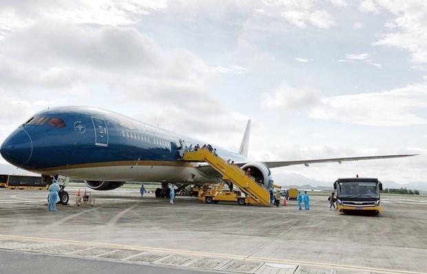 Vietnam Airlines reanudara los vuelos entre Van Don y Da Nang hinh anh 1