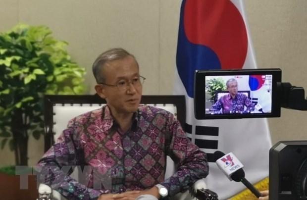 Corea del Sur apoya a los paises integrantes de ASEAN en capacitacion del personal hinh anh 1