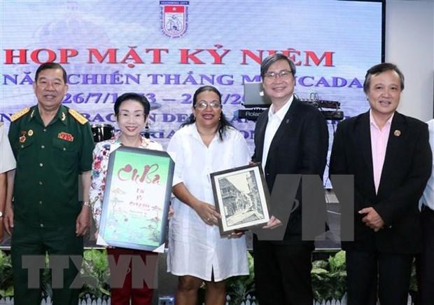 Resaltan en Vietnam lazos especiales con Cuba en aniversario 67 de la epopeya del Moncada hinh anh 1