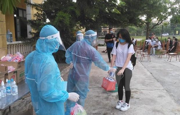 Vietnam registra cinco nuevos casos importados del COVID-19 hinh anh 1