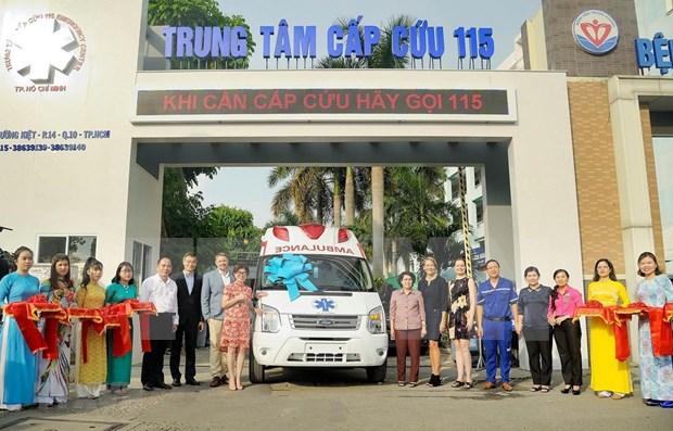 Empresarios estadounidenses respaldan a Ciudad Ho Chi Minh en elevar calidad de sanidad publica hinh anh 1