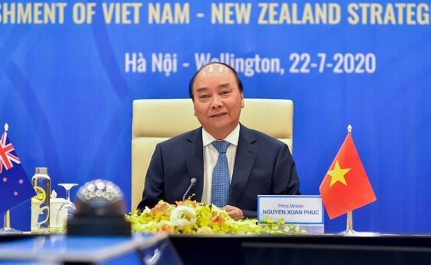 Vietnam y Nueva Zelanda establecen relaciones de asociacion estrategica hinh anh 1