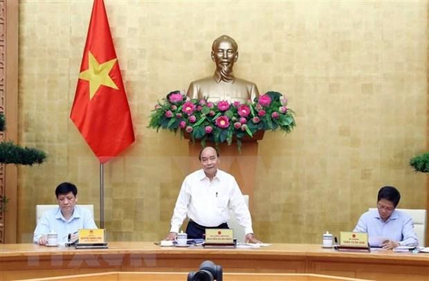 Premier vietnamita insta a Binh Thuan a prestar atencion a lucha contra la sequia hinh anh 1