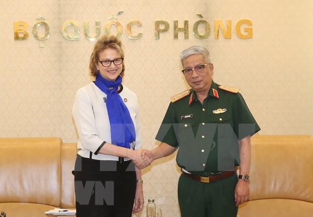 Preparado Vietnam para conferencia sobre participacion femenina en misiones de paz de ONU hinh anh 1