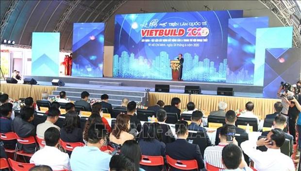 Inauguran exposicion internacional VIETBUILD Can Tho 2020 hinh anh 1
