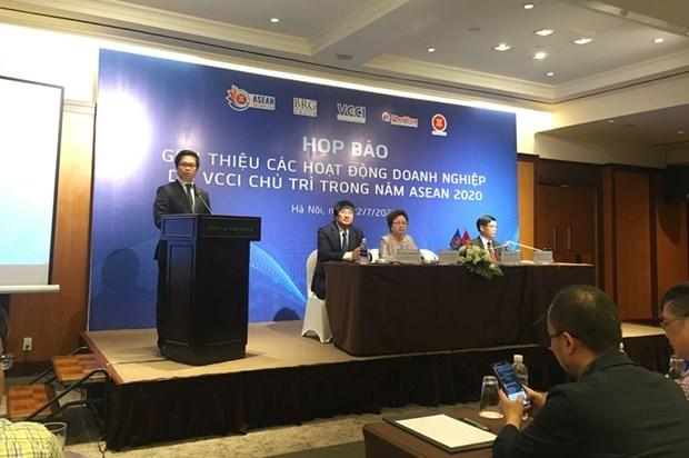 Efectuaran diversas actividades empresariales en Ano de ASEAN 2020 hinh anh 1