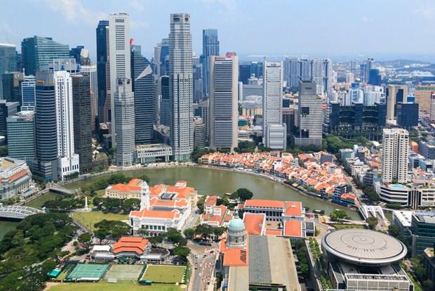 CBRE: Distrito financiero de Singapur vulnerable al aumento del nivel del mar hinh anh 1