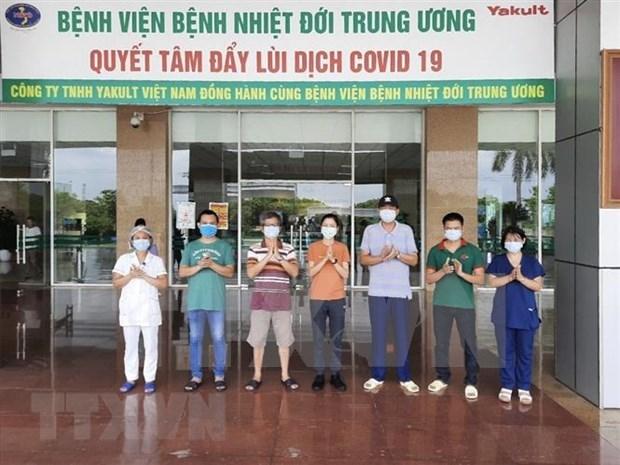 Vietnam: Suma 99 dias sin contagio local de COVID-19 hinh anh 1