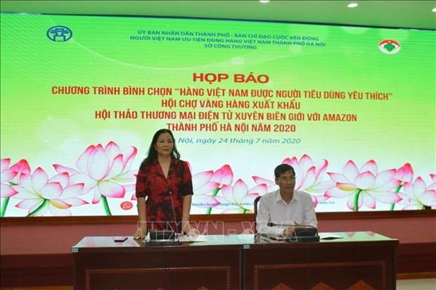 Efectuaran feria de productos exportables de Vietnam hinh anh 1