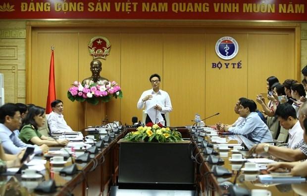 Vicepremier vietnamita pide alerta y preparacion ante evolucion de COVID-19 hinh anh 1