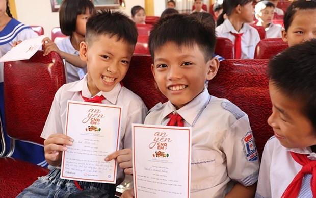 Organizacion ChildFund ofrece apoyo a alumnos vietnamitas afectados por COVID-19 hinh anh 1