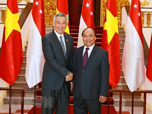 Singapur y Vietnam: socios valiosos en el tiempo desafiante hinh anh 1