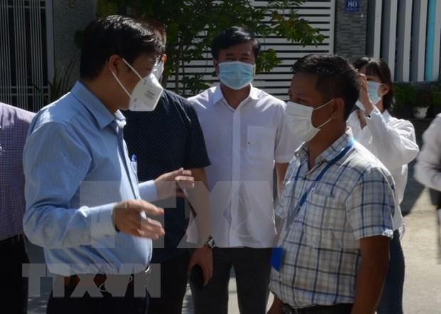 Ciudad de Da Nang por rastrear fuente de infeccion del coronavirus hinh anh 1