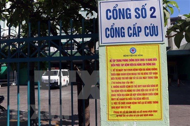 Exigen aplicar distanciamiento social en ciudad vietnamita de Da Nang a partir del 28 de julio hinh anh 1