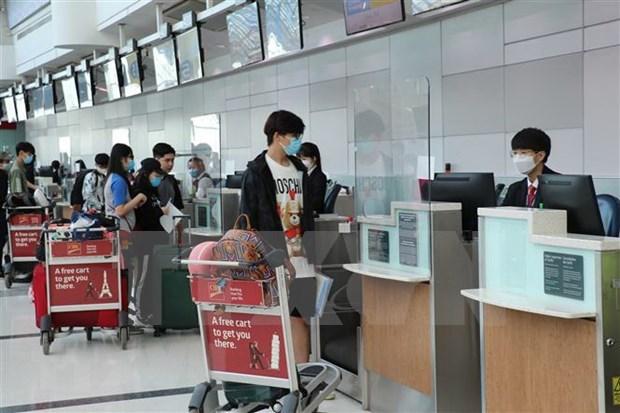 Mas de 310 vietnamitas regresan al pais desde Corea del Sur hinh anh 1