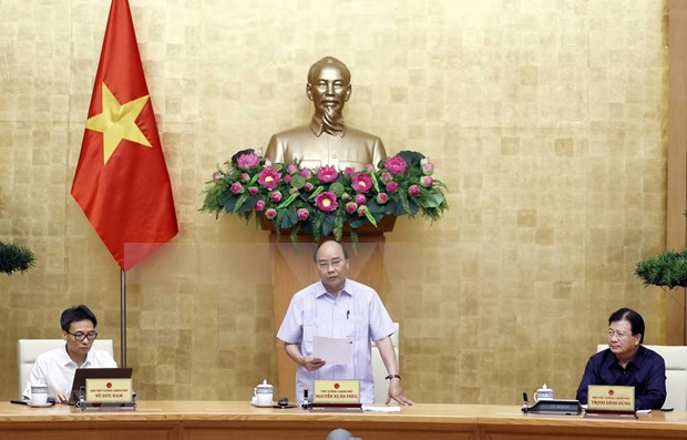 Exhorta premier de Vietnam a rastrear casos de COVID-19 hinh anh 1