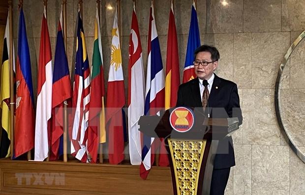 Secretario General de la ASEAN destaca aportes de Vietnam a la integracion regional hinh anh 1