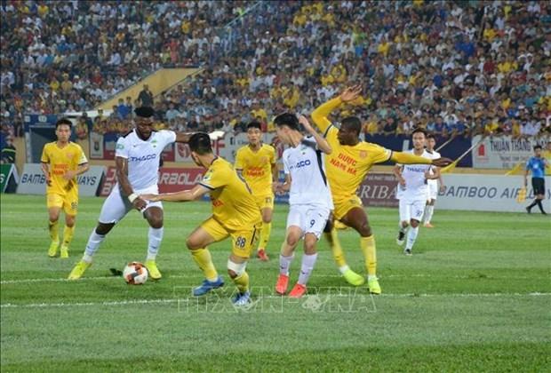 Suspenden nuevamente el futbol en Vietnam por el COVID-19 hinh anh 1