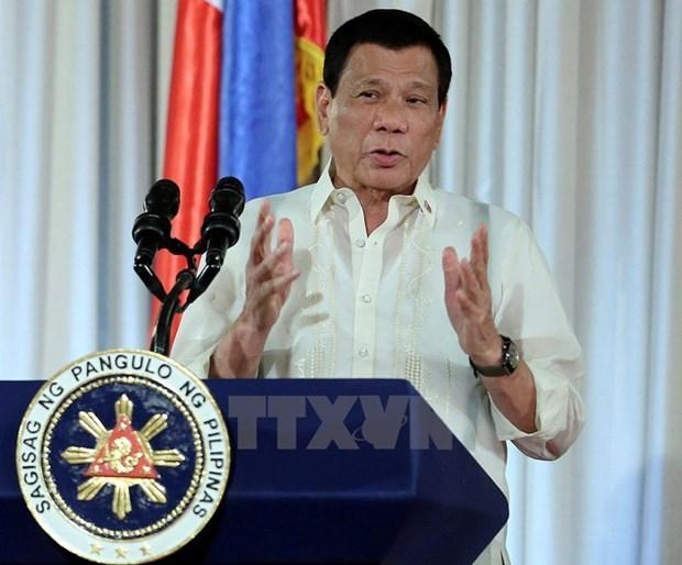 Presidente filipino resalta papel de gestion financiera y sistema bancario hinh anh 1