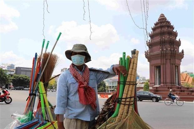 Camboya entrega asistencia de 23 millones de dolares a pobres por el COVID-19 hinh anh 1